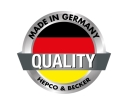 Not just a German name but products actually manufactured there in Pirmassens in South Western Germany!
