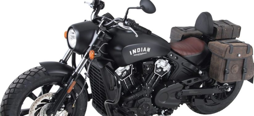 Indian Scout / Bobber cruiser luggage and Motorcycle accessories from Hepco & Becker