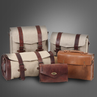 Traditional yet stylish, Legacy leather & canvas luggage made in Germany by Hepco & Becker